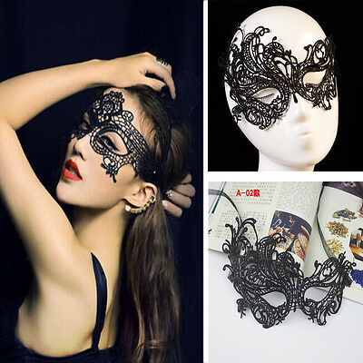 Sale Eye Mask Sexy Lace Masquerade Ball Halloween Party Fancy Dress Costume