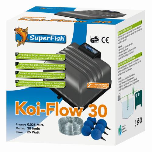 SUPERFISH Koi-Flow 30 Teichbelüfter