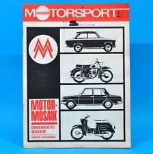DDR Illustrierter Motorsport IMS 6/1968 Tony Black Rallye-DDR Moto-Cross A