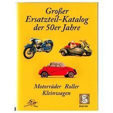 Grosser Ersatzteil Katalog Motorräder Roller Kleinwagen Jahre Bosch Hella Buch