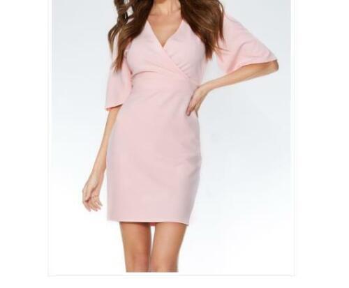 Mini Vestido nuevo PVP £ 22.99 prueba Murciélago Rosa B9