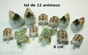 Lot De 12 Animaux En Céramique, Revendeur, Gros Lot, Jardin, Fontaine,bassin 7i1nkw2o-08001436-810784744