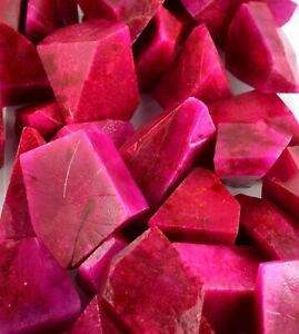 Natural Pink Sapphire 400-500 Carat/1 Piece Gemstone Polished Rough African
