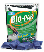 Bio-pak (50 Sachets) Portable Toilet Holding Tank Chemical Treatment Deodoriser