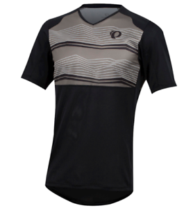 Pearl-Izumi-Launch-Black-Short-Sleeved-Jersey-Mens-Uk-Size-L-Ref163