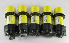 Lot Of 5 Tampb Russellstoll 50 Amp 250 Volt 3 Male Lock Plugs