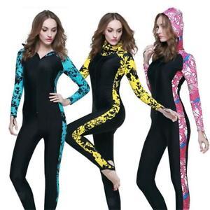 Combinaison-Complete-Femme-Costume-Plongee-Sous-marine-Surf-Kayak-Sport-Nautique