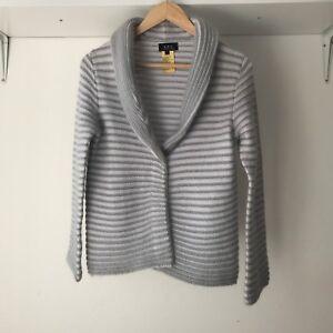 APC-Rue-De-Fleurus-Paris-Womens-Striped-Career-Cardigan-Size-M