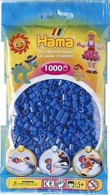Pack of 1000 Hama Midi Beads - Light Blue (207-09)