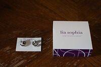 Lia Sophia Chiffon Earrings