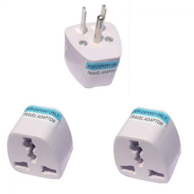 Travel Universal Converter UK EU AU To US USA AC Power Plug Adapter Outlet