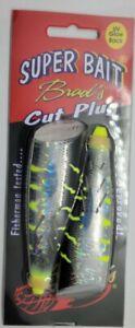 "BRAD'S 2-Pack Super Bait Cut Plug UV ""Layne's McGoo"" Kwikfish type Lure NEW"