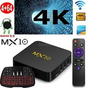 MX10-RK3328-Quad-Core-Android-9-0-4GB-64GB-Smart-TV-BOX-WiFi-4K-Stream-Tastatur