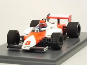 McLaren Mp4 / 1c Gp Long Beach Etats-Unis 1983 Niki Lauda No Tobacco 1:43 Spark S4842