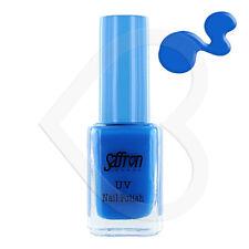 Saffron UV Reactive Glow Bright Rave Neon Nail Polish - 107 Blue