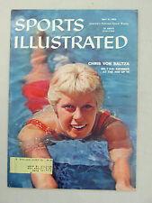 SPORTS ILLUSTRATED 1958 JULY 21 VON SALTZA #1 SWIMMER SANTA CLARA OLYMPIC GOLD