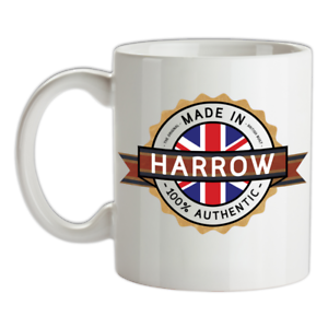 Made-in-Harrow-Mug-Te-Caffe-Citta-Citta-Luogo-Casa