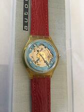 Original Uhr SWATCH Automatic RED AHEAD (SAK101)-Swiss Made-NEU/NOS-mit Box