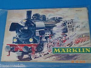 Marklin Catalogue 1967/68  F  Bfrs