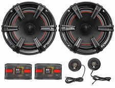 "MB Quart XC1-216 X-Line 6.5"" 180 Watt Car Audio Component Speakers System"
