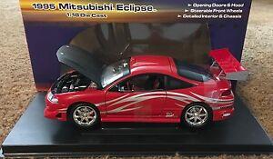 1995  Mitsubishi Eclipse  1:18 Scale Racing Champions  Xtreme