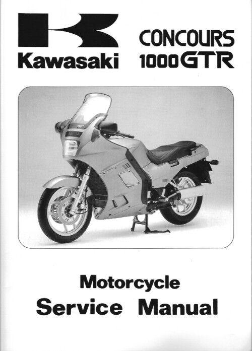 99924-1065-16 1986-2006 Kawasaki ZG1000A Concours Motorcycle Service Manual