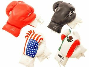 10oz LastPunch Real Vinyl Leather Boxing Training Sparring Practice Gloves 1Pair
