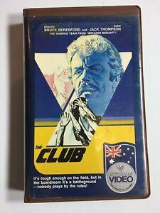 Rare-80s-Aussie-Film-THE-CLUB-Star-Home-Video-Ex-Rental-BETA-not-VHS-Collingwood