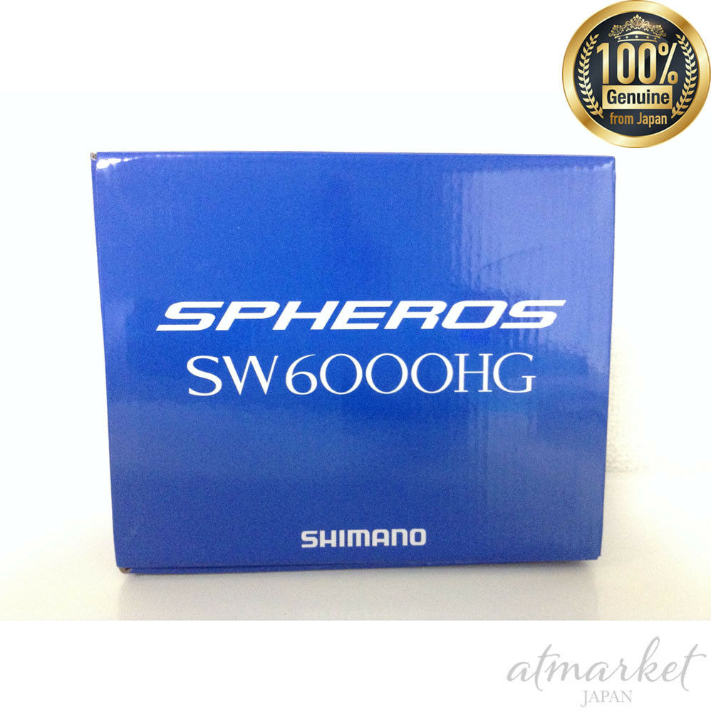 New Shimano SPHEROS SW 6000HG Spinning Reel from Japan F S