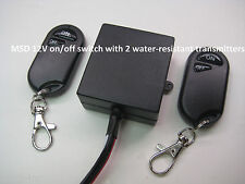 UNIVERSAL 12V LED lighting switch with 2 water-resistant remote transmitter RS10