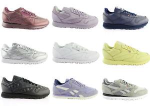 Reebok-Classic-Leather-Sneaker-Damen-Turnschuhe-Halbschuhe-Leder-Sportschuhe
