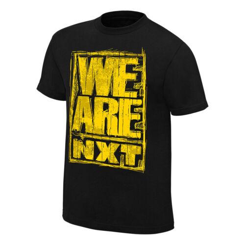 """toutes tailles WWE NXT /""""nous sommes NXT/"""" T-shirt officiel de Jeunesse nouveau"""