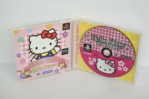 HELLO-KITTY-WHITE-PRESENT-Ref-ccc-PS1-Playstation-Japan-Game-p1