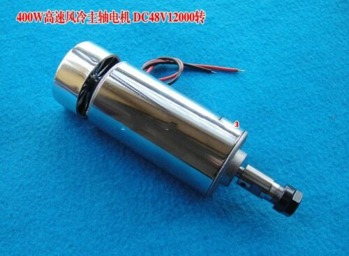 ER11 400w 12000RPM 48V Spindle Motor Speed Controller Mount power supply
