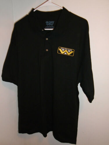 Weyland Yutani Gildan Corporate Polo Shirt Black X Large Aliens