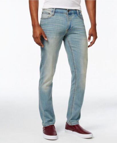 Men/'s ROF à la mode nouveau Sable Délavé Slim Denim Flex Jeans Stretch