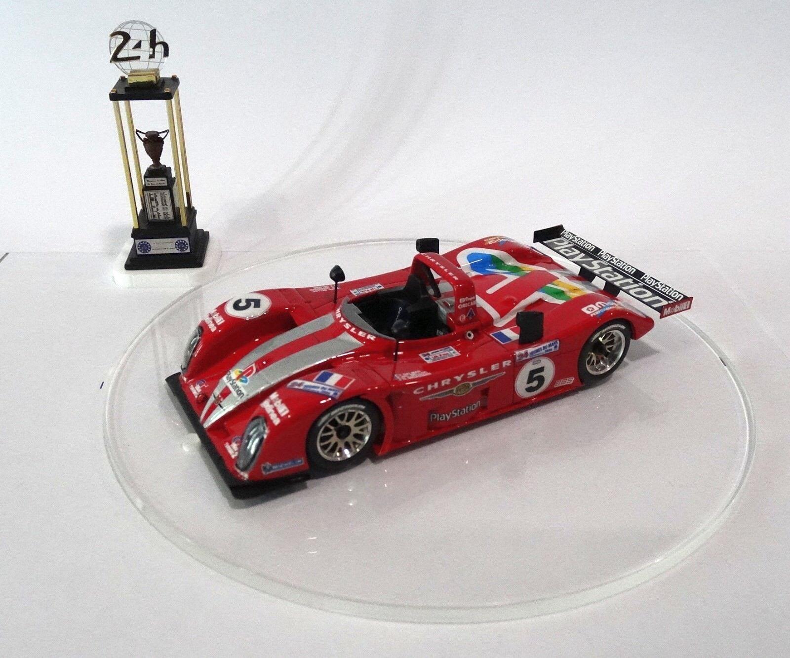 REYNARD 2KQ Mopar  5  24H Le Mans 2000 Built Monté Kit 1/43 no spark minichamps