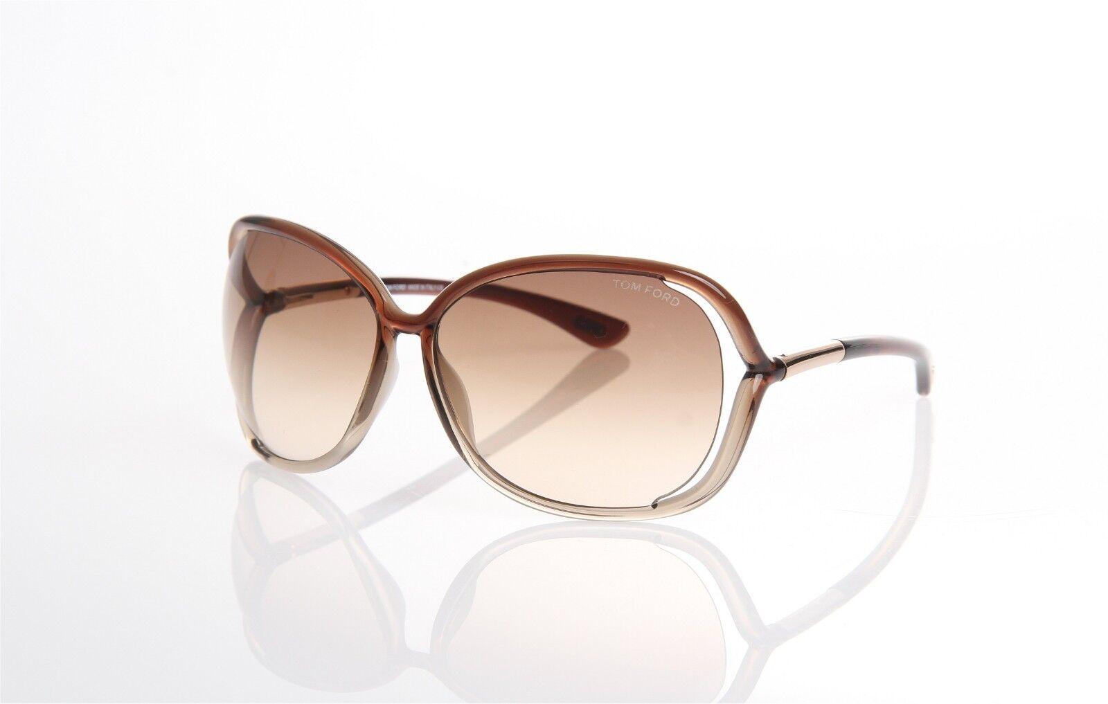Tom Ford Raquel TF0076 38F Braun Überdimensional Offener Offener Offener Seite Sonnenbrille TF76 | Das hochwertigste Material  | Adoptieren  | Creative  4f9231