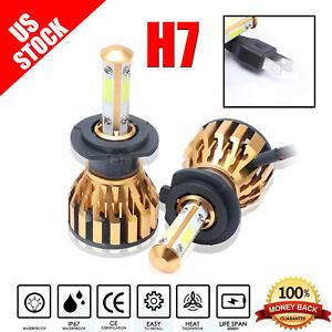 H7 CREE LED Lamp Headlight Kit Car Beam Bulbs 80W 7200LM 6000k White 12V Upgrade