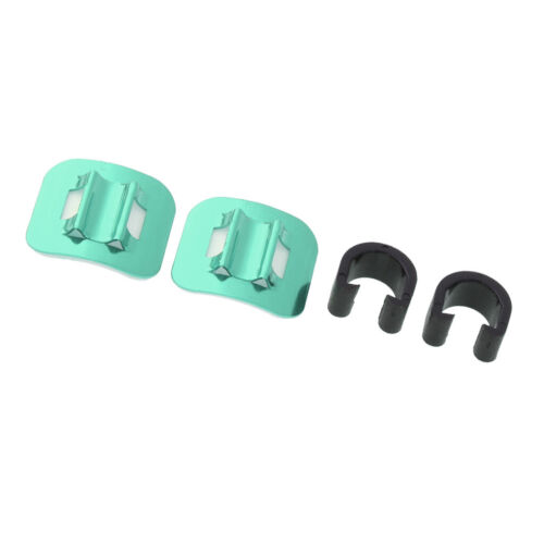 2 PCS Bike Stick-on Guide Line Clips Shifter Cable Clip Fixed