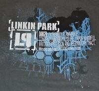 Linkin Park T-shirt Adult Mens Tee Lp Meteora Hydrid Theory Album Graphic Tee