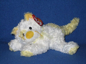 TY SAFFRON the CAT BEANIE BABY - MINT with MINT TAG