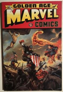 THE-GOLDEN-AGE-OF-MARVEL-COMICS-1997-Marvel-Comics-TPB-VG