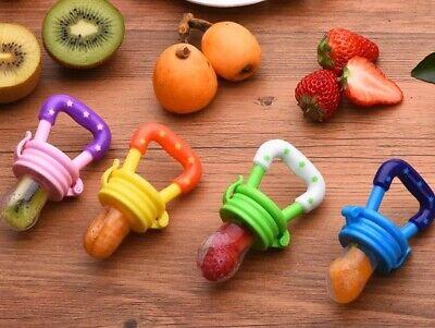 4 x Schnuller baby Obst Sauger Fütterung Beissring Fruchtsauger Geschenk