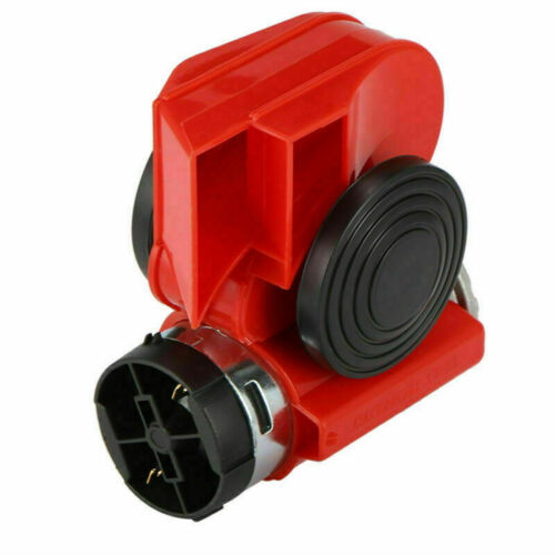 Luft Blast Hupe 12v 150 Db laut Doppel Farbe Sirene Für