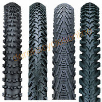 Pair Nutrak 26 Mountain Bike Mtb Tyres & Tubes / Chunky / Semi Slick / Knobbly
