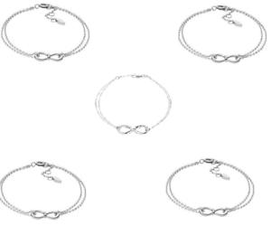 UK-Women-Ankle-Bracelet-925-Sterling-Silver-Anklet-Foot-Chain-Boho-Beach-Beads