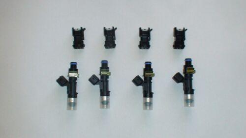 4 Genuine Bosch EV14 60lb 630cc fuel injectors 96 Honda Civic Integra OBD2 11MM