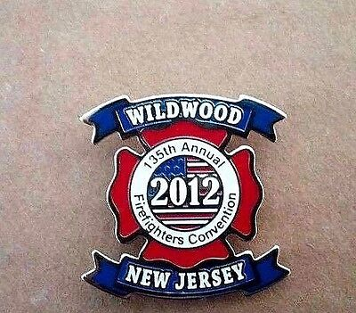 NEW JERSEY 2011 State Firefighters Convention COLLECTIBLE LAPEL PIN WILDWOOD