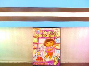 Dora the Explorer Singing Sensation on DVD